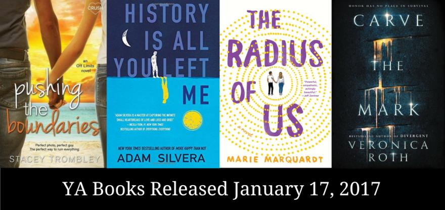 YA Books Released January 17, 2017